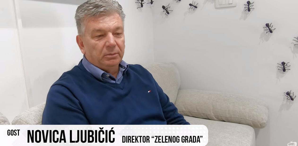 """PULS – Razgovor s Novicom Ljubičićem, direktor """"Zelenog grada"""""""