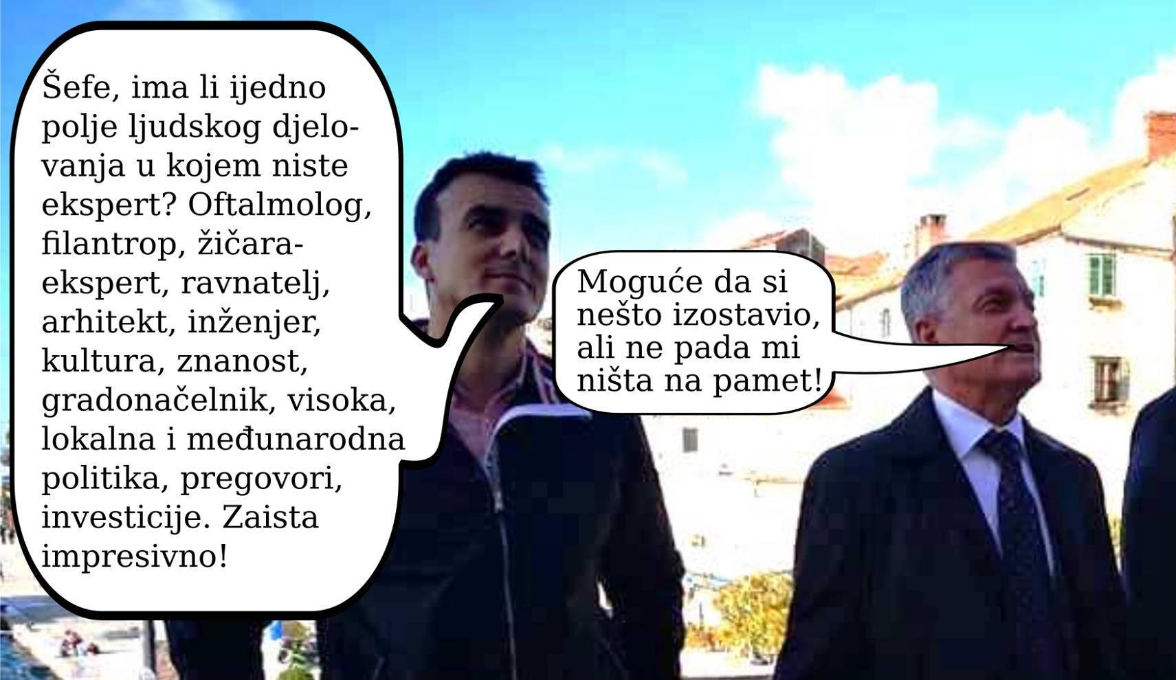 Gradonačelnik Burić zna sve?