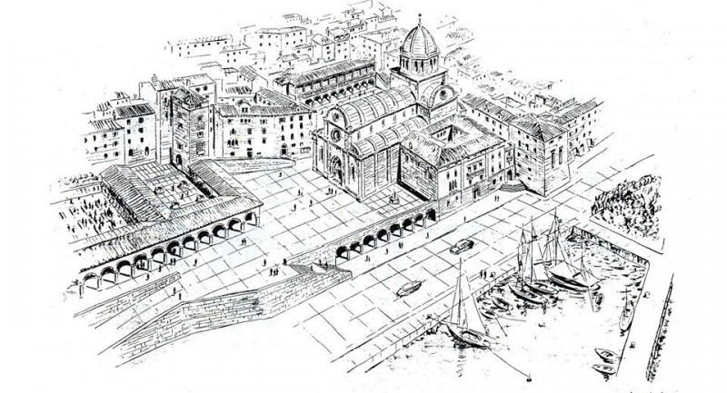 Kako je skoro srušeno puno zgrada oko šibenske katedrale