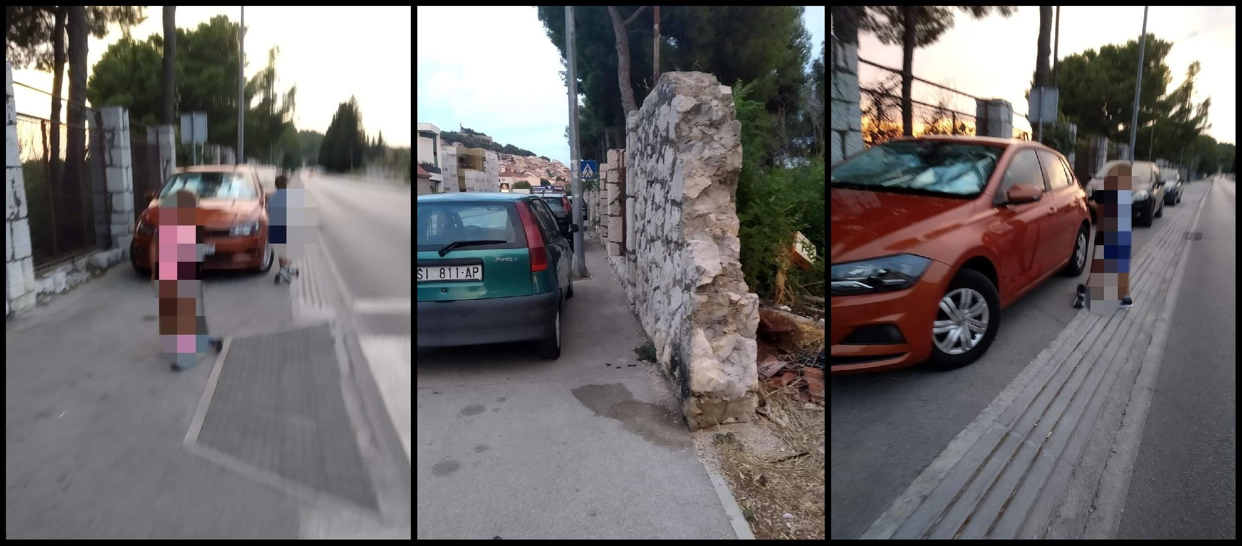 Tko je dozvolio parking po nogostupu??