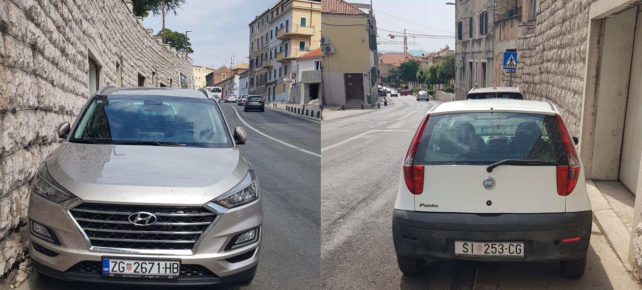 Borba titana u bezobraznosti parkiranja