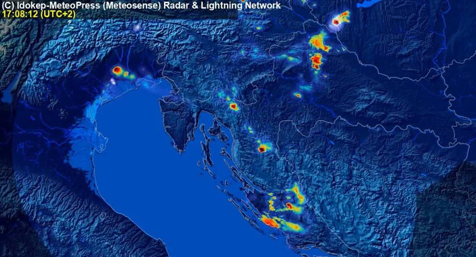 Iskoristite mađarski kišni radar za prognozu kiše