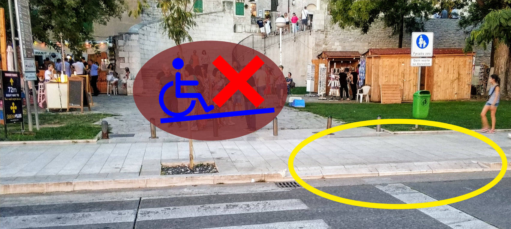 Potpuna nebriga za osobe s invaliditetom