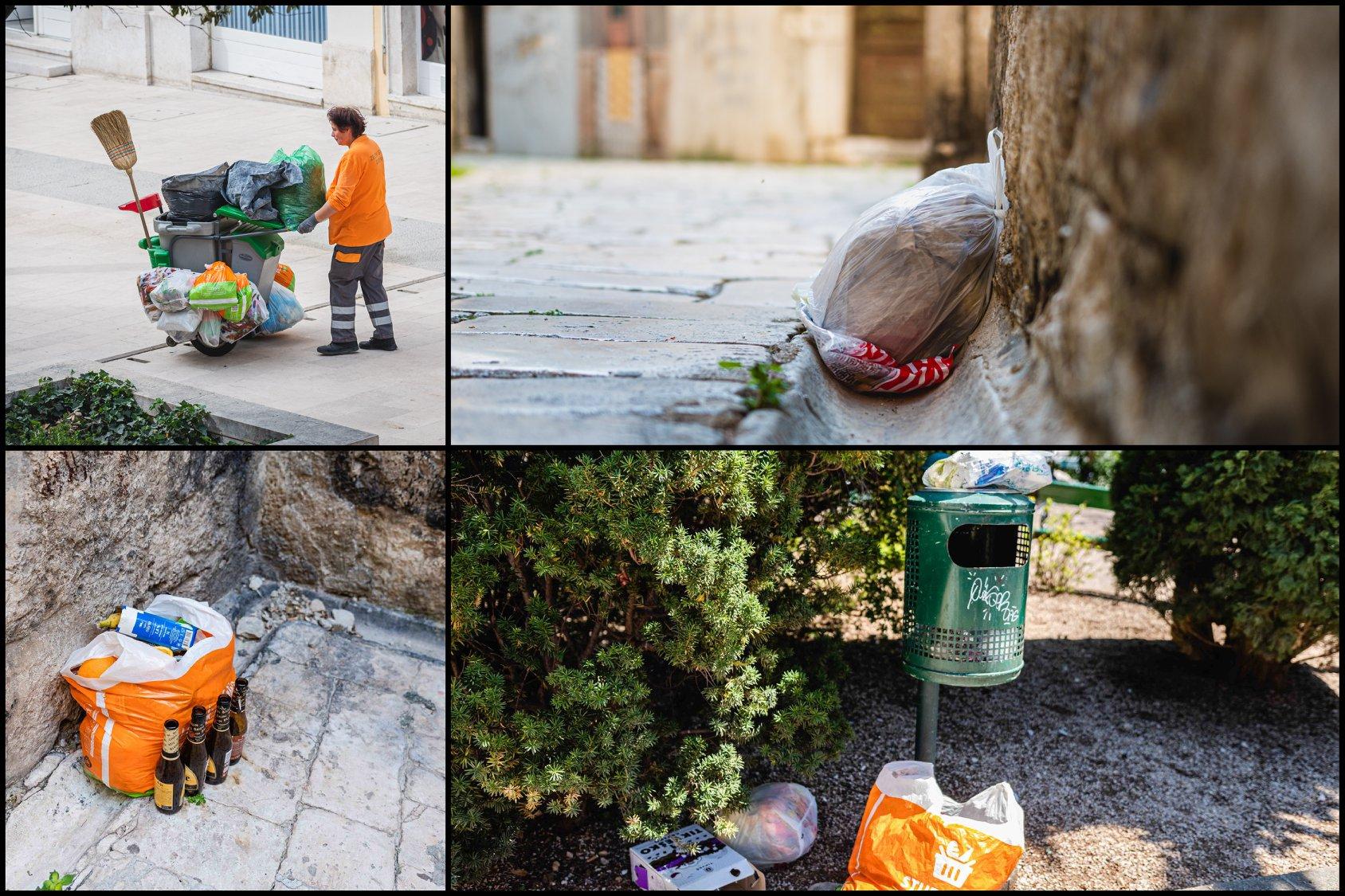 Kako rješiti problem ostavljanja smeća po staroj gradskoj jezgri?