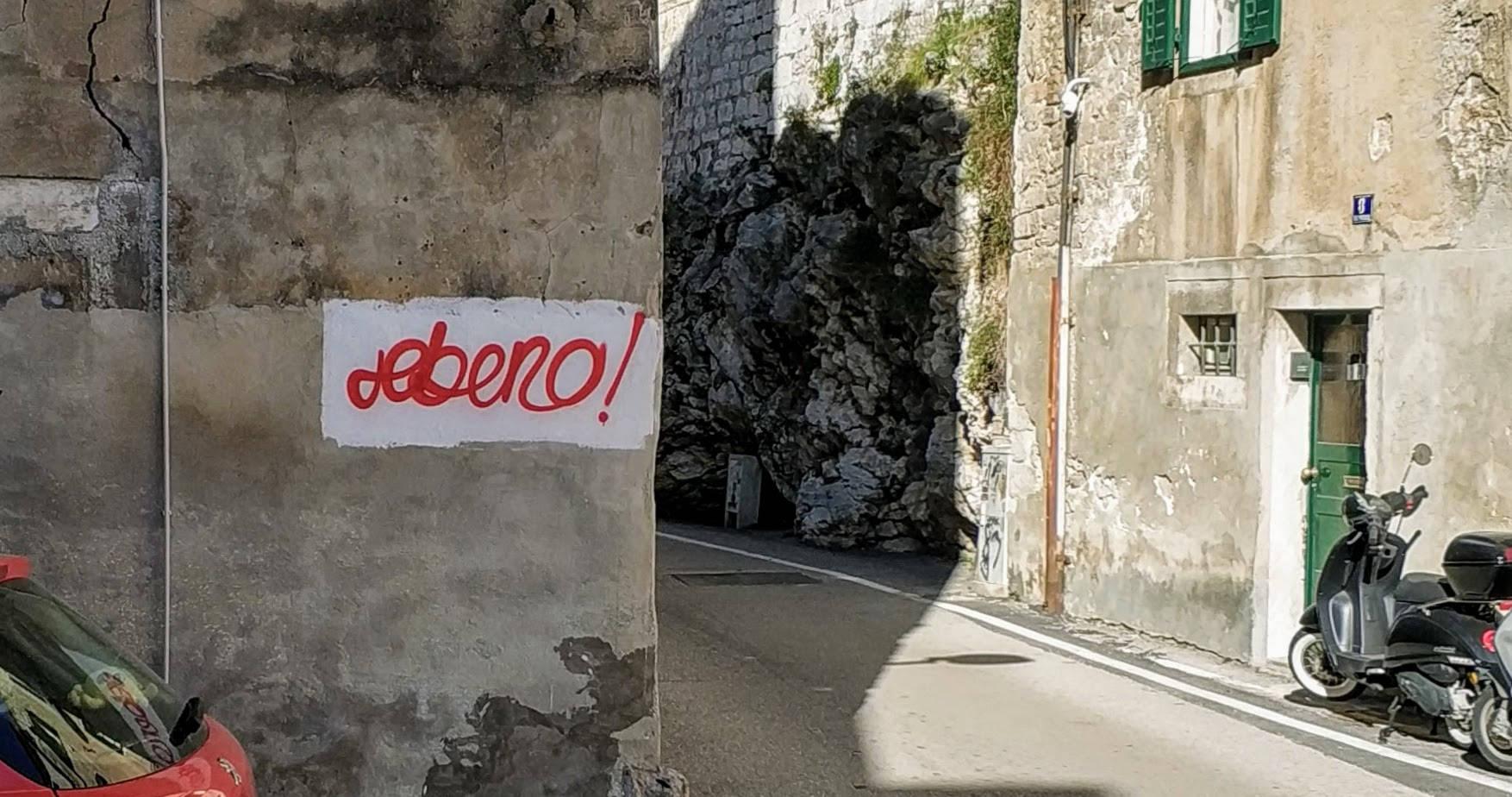 Da li je ovo ulična umjetnost ili vandalizam?