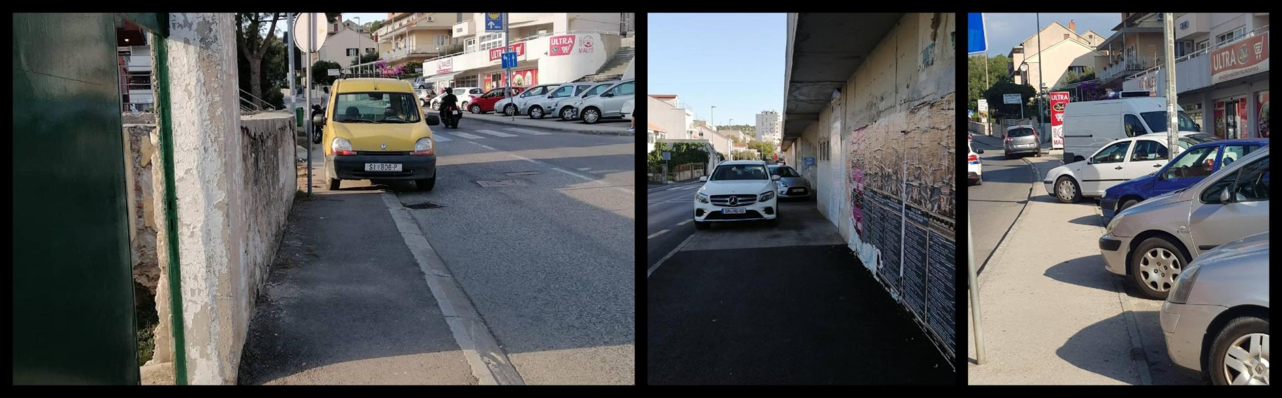 Zašto gradske službe ignoriraju parking na nogostupima?